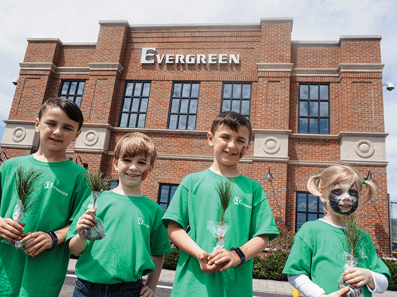 Evergreen Celebrates Arbor Day